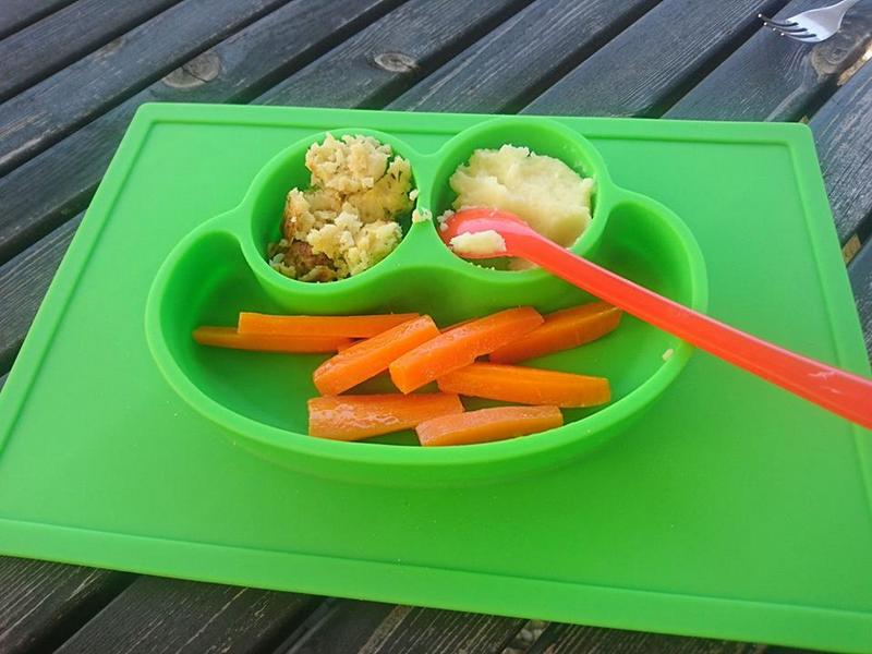 Mittagessen Baby led Weaning