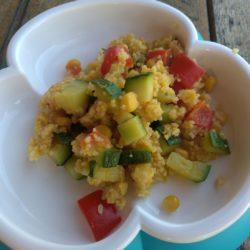 Fruchtiger couscous salat
