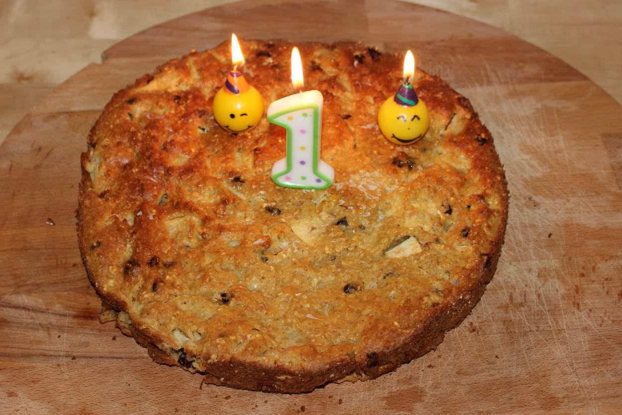 Geburtstagskuchen ohne zucker