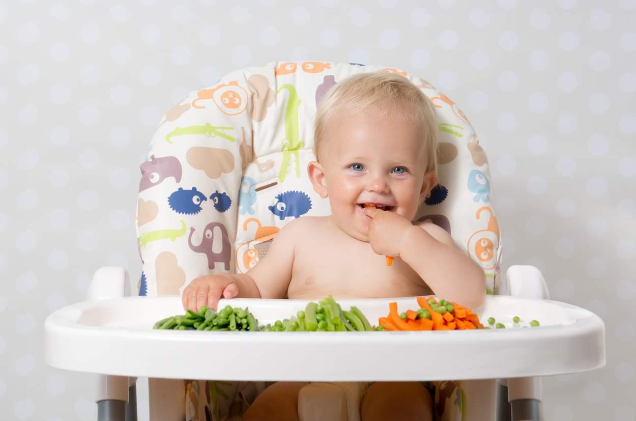 Baby will Bohnen essen