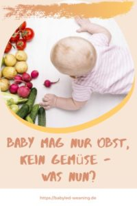Baby Mag Kein Obst