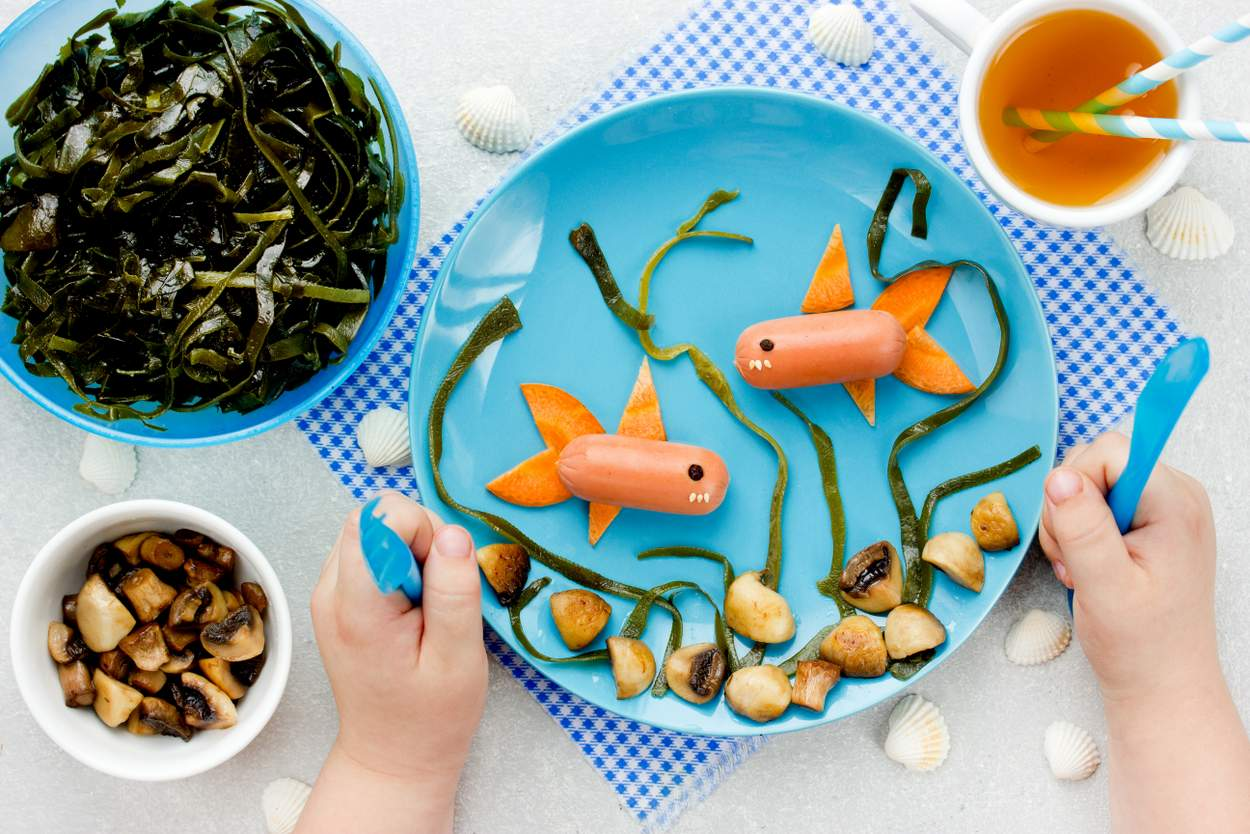 Baby will Fisch essen
