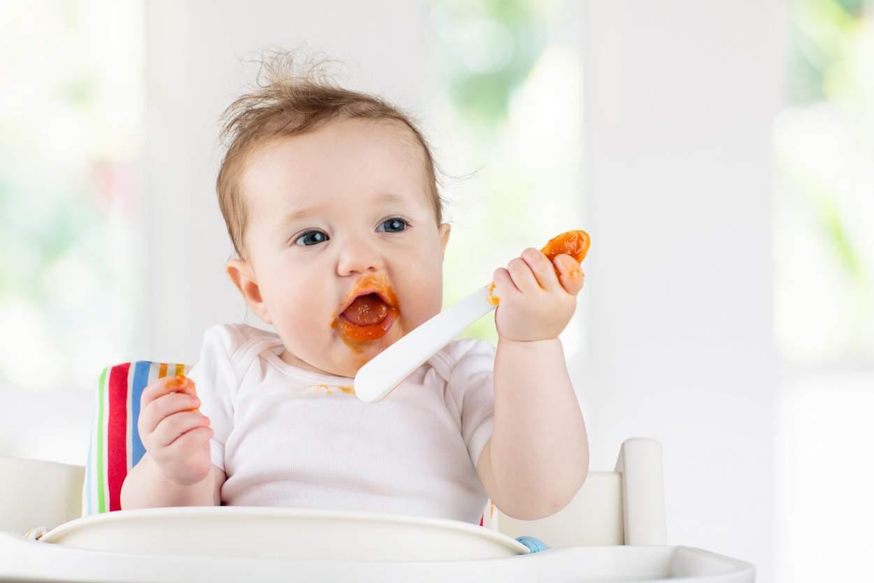 Baby will Zwiebel essen