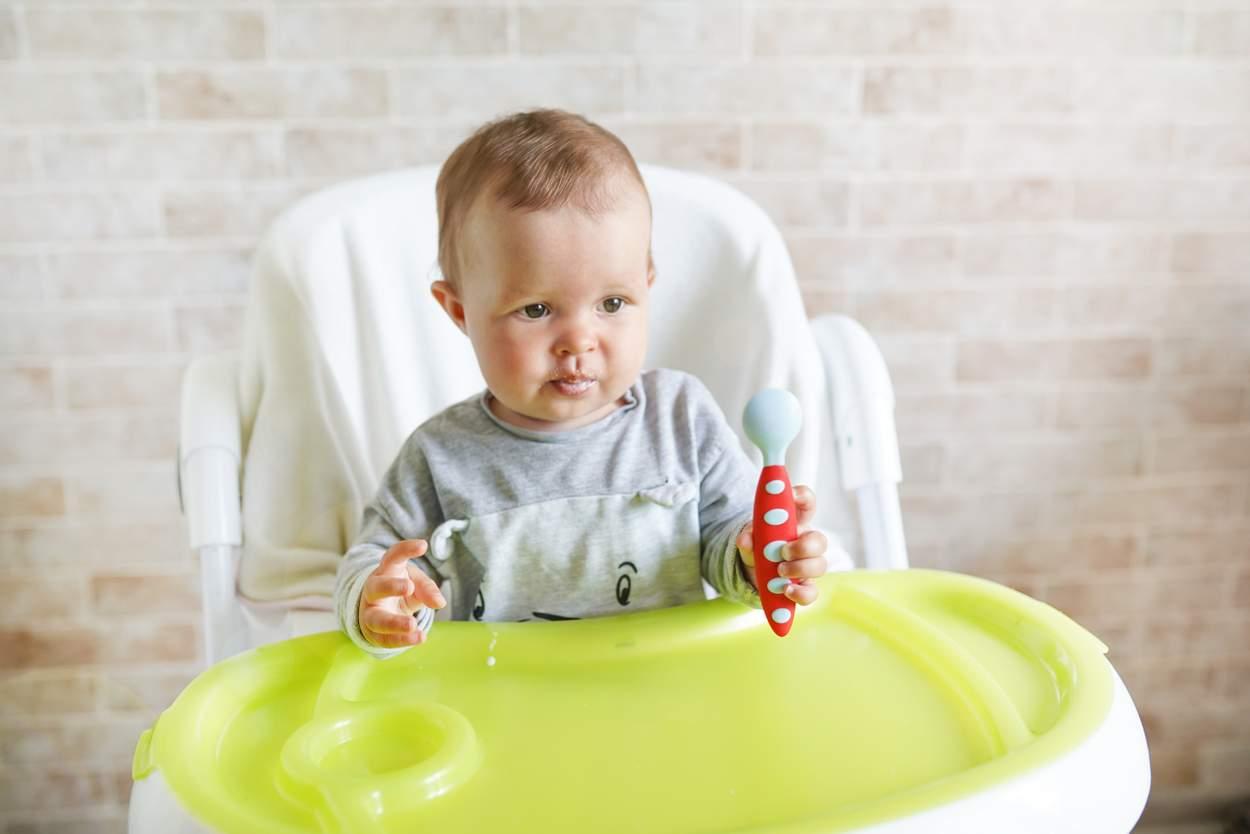 Baby will Couscous essen