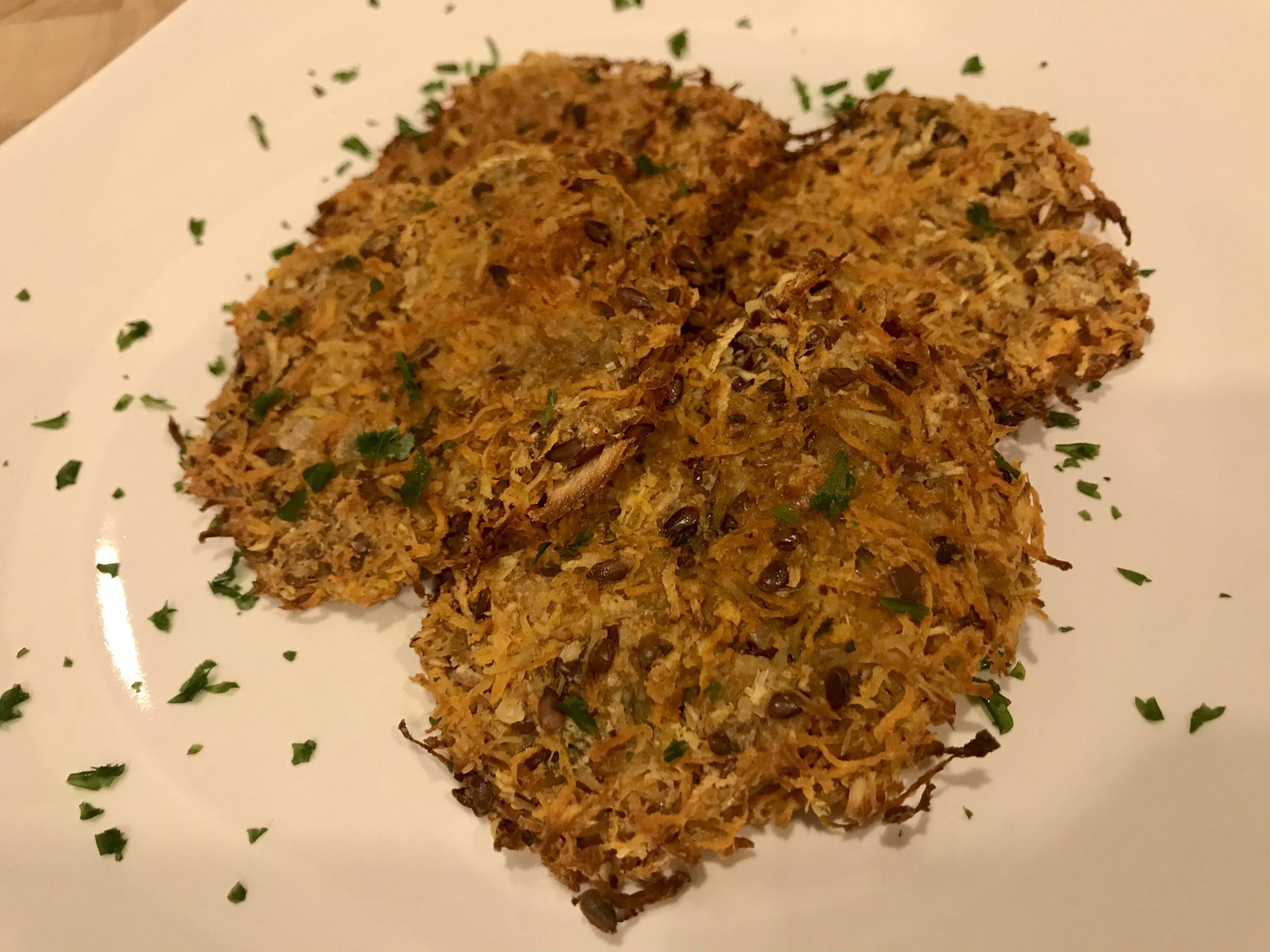 Süßkartoffel-Pastinaken Rösti