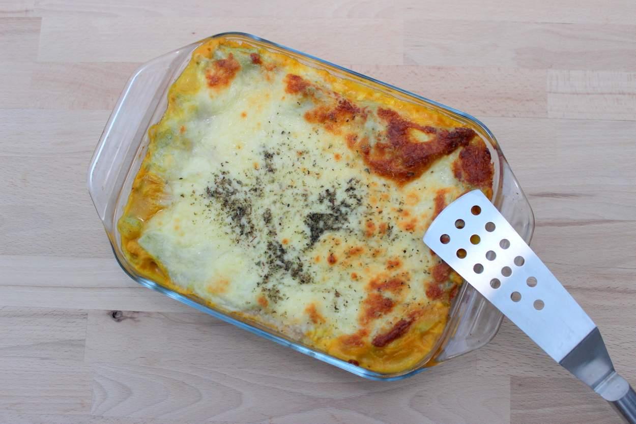 Kürbislasagne-vegetarisch-kuerbis
