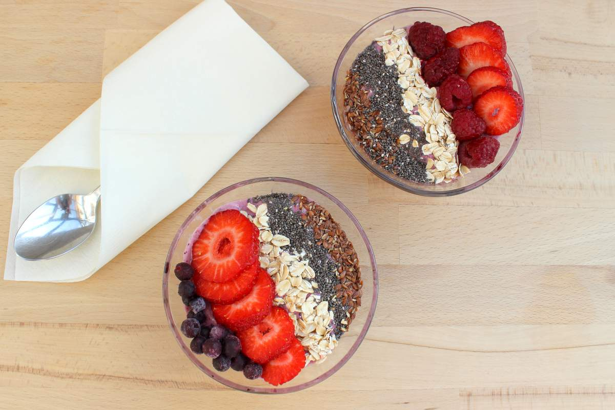 frühstücksbowl für kinder