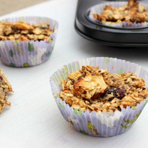 vegane müsli muffins