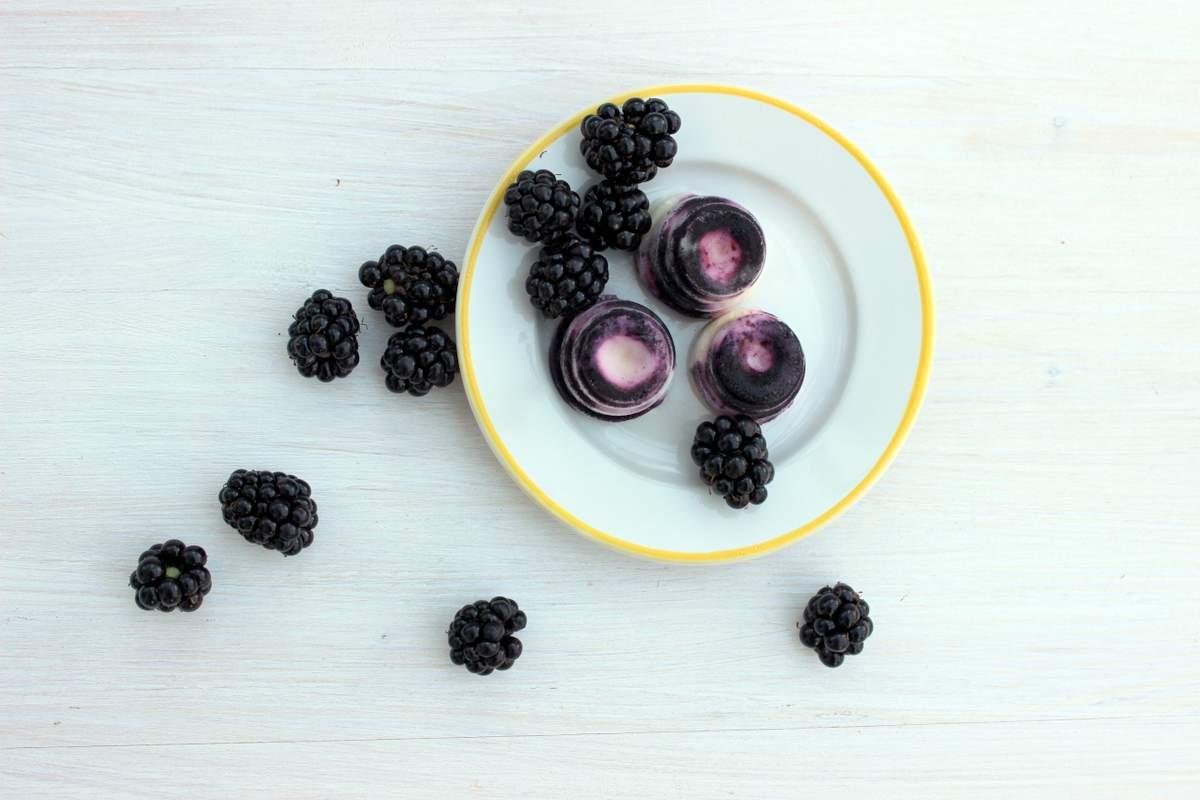 frozen joghurt drops